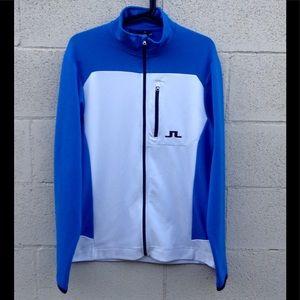 J. Lindbergh Full Zip Track Jacket Size Large NWOT